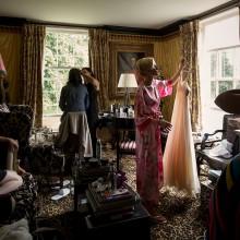 getting ready bride in Scotland
