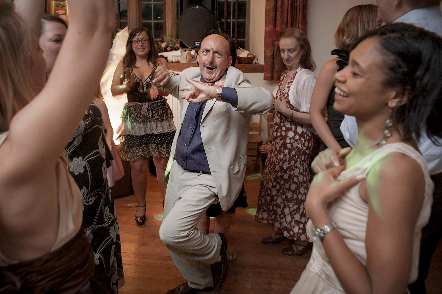 No one can dance like an uncle