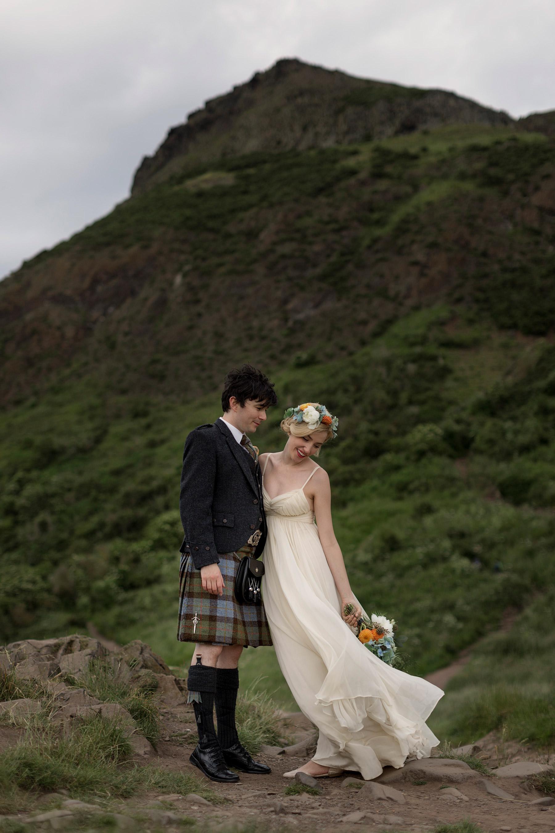 jenni melear & stuart mcleod wedding photo