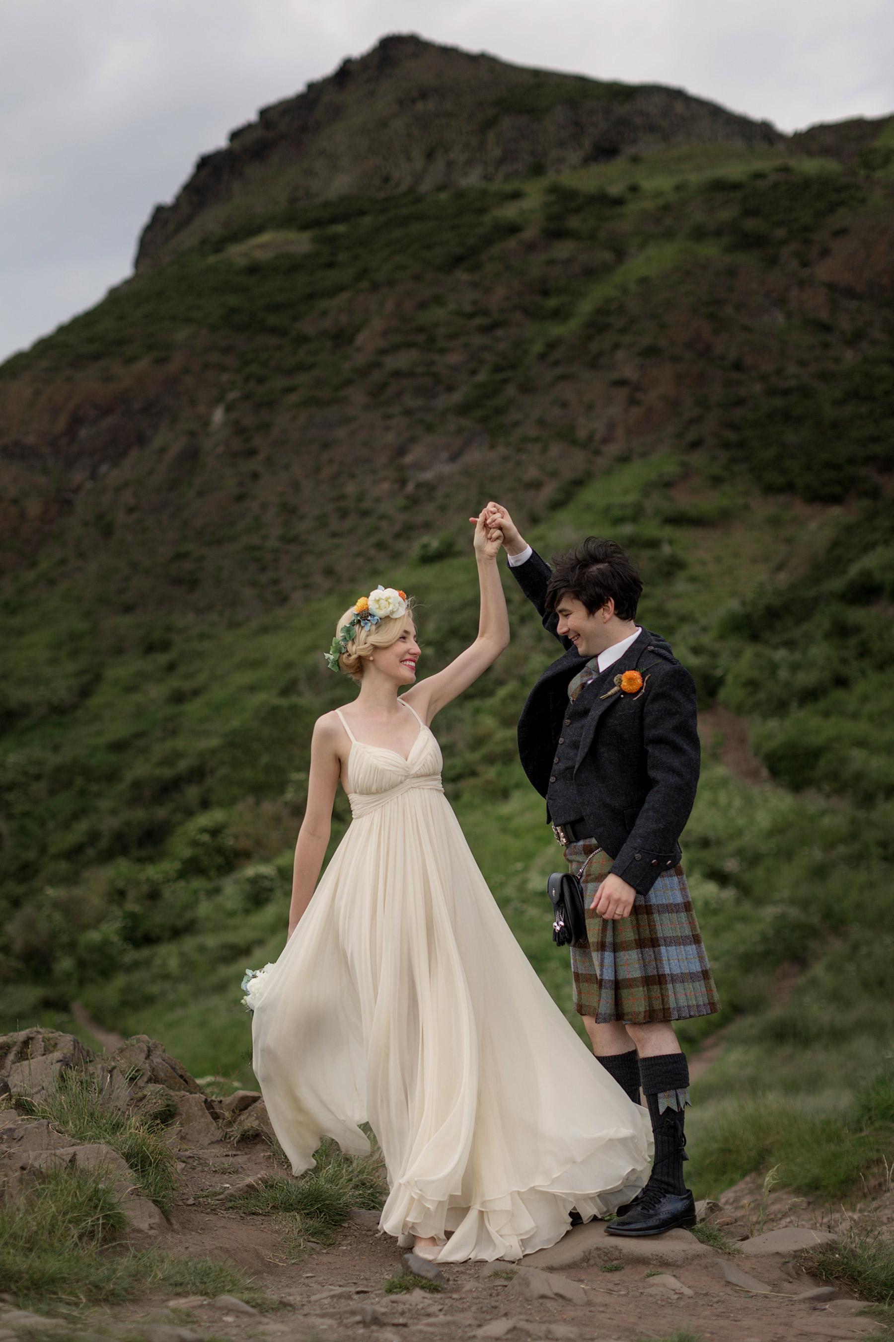 stuart mcleod and Jenni melear wedding in scotland