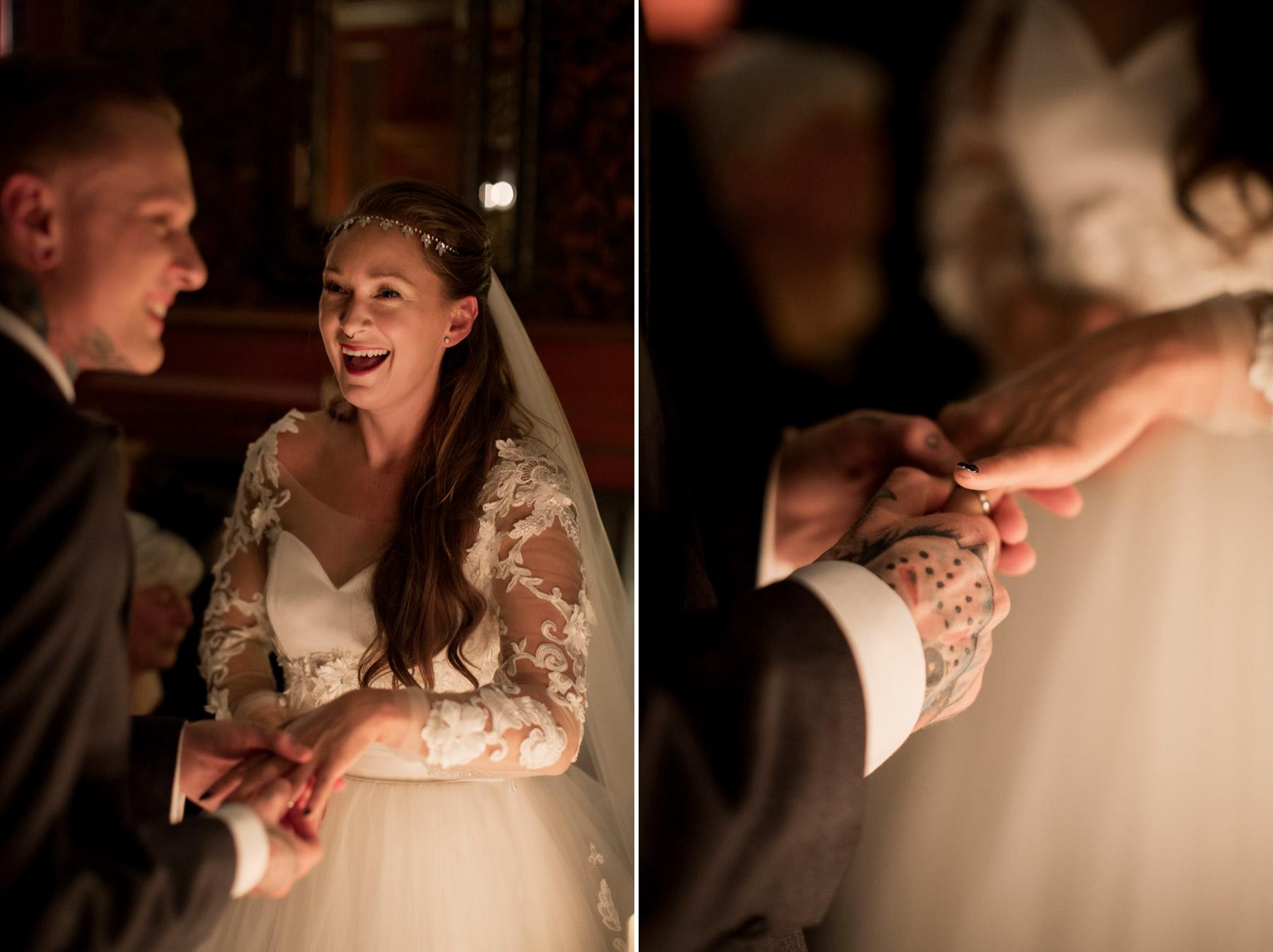 wedding vows at halloween