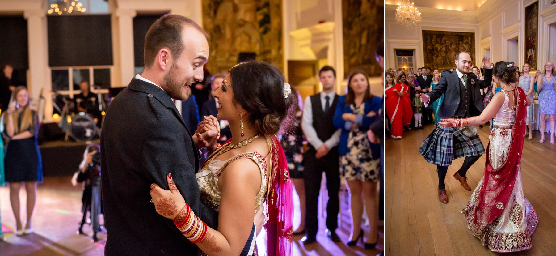 First Dance at Hopetoun House Scotland