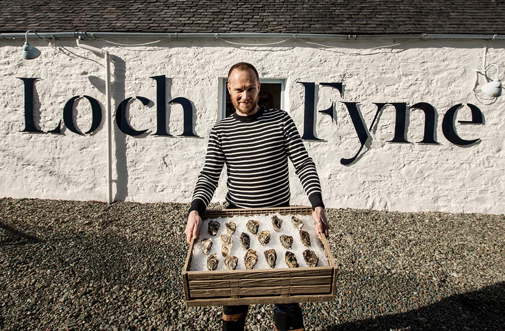 Oysterman Scottish wedding supplier