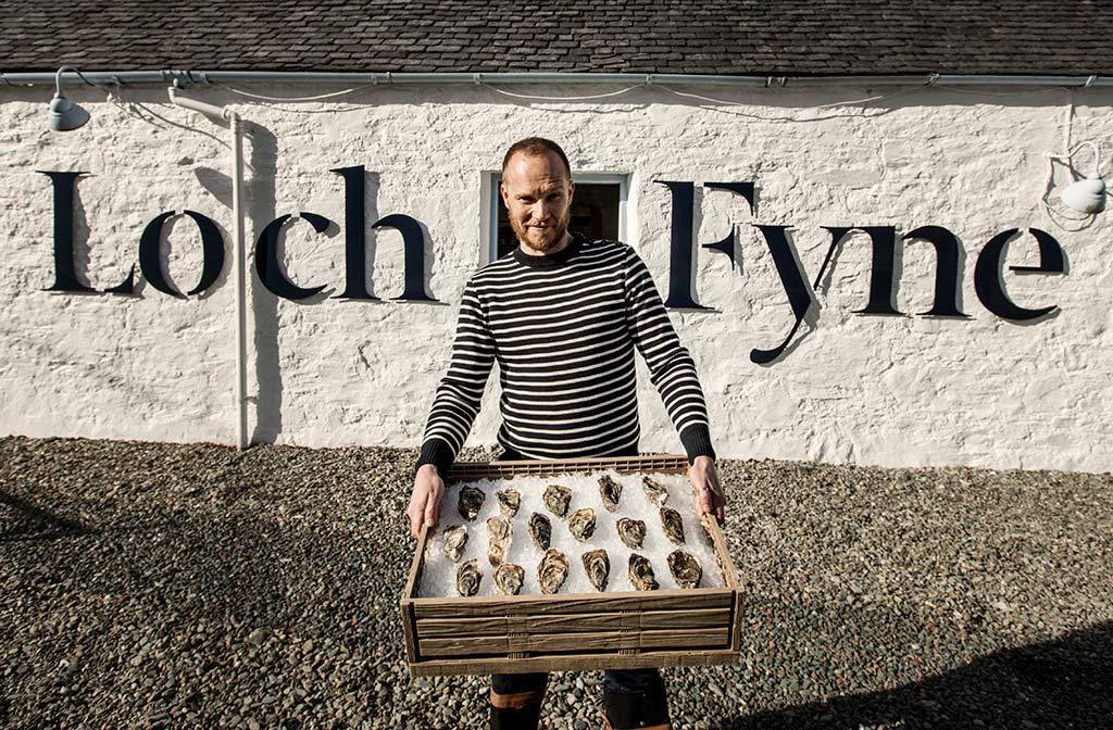 Oysterman Scottish wedding supplier