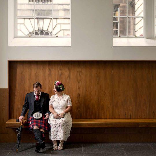 Edinburgh, wedding, elopement, Lothian Chambers