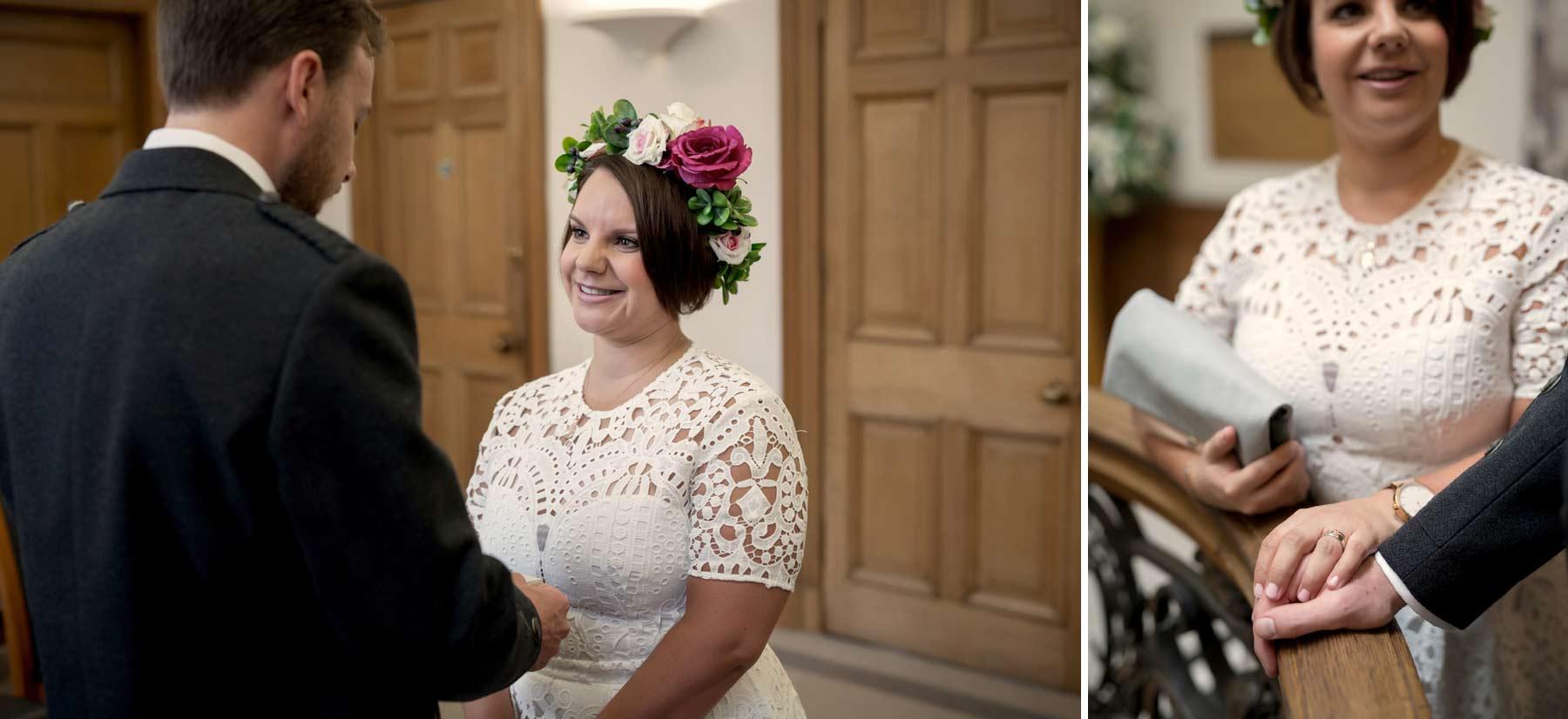wedding, ceremony, elopement, Lothian Chambers, Edinburgh