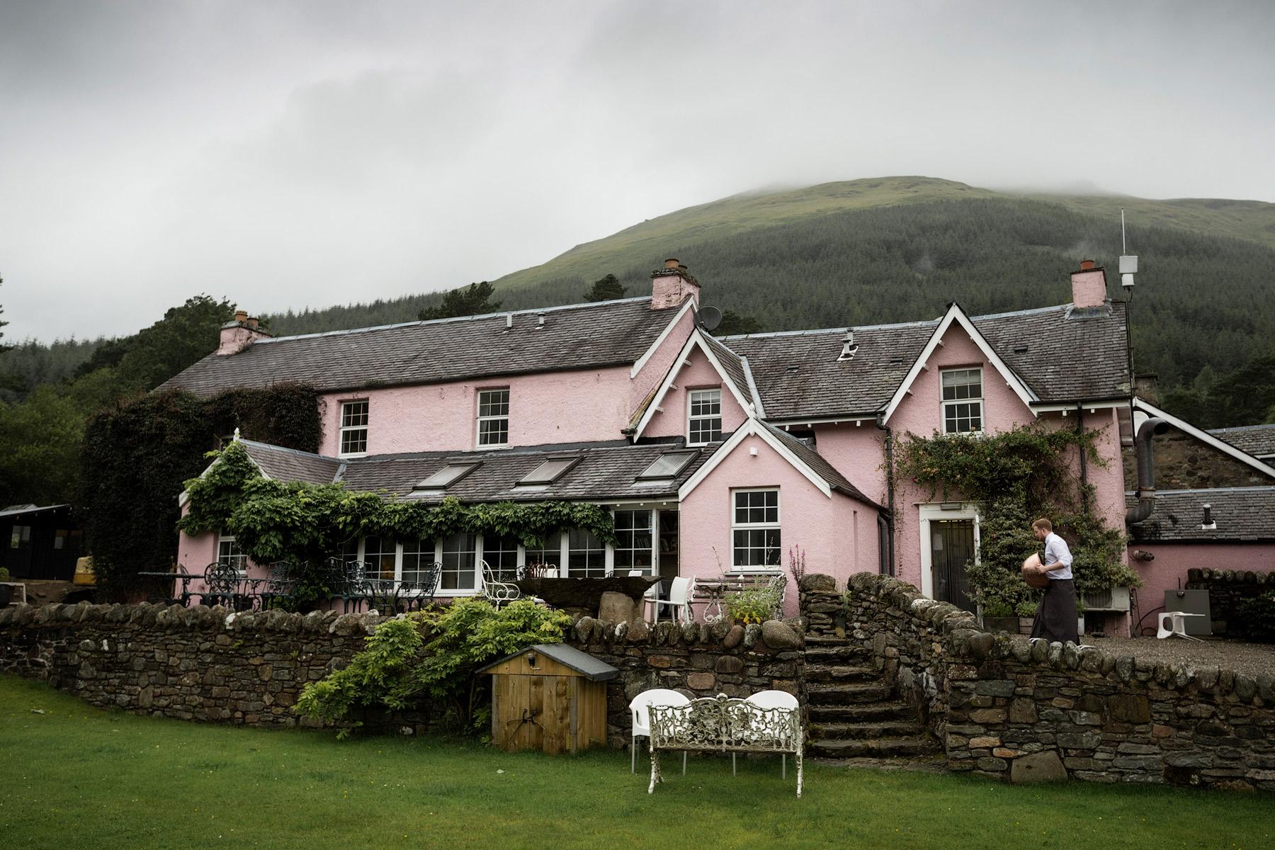Monachyle Mhor Hotel in Scotland