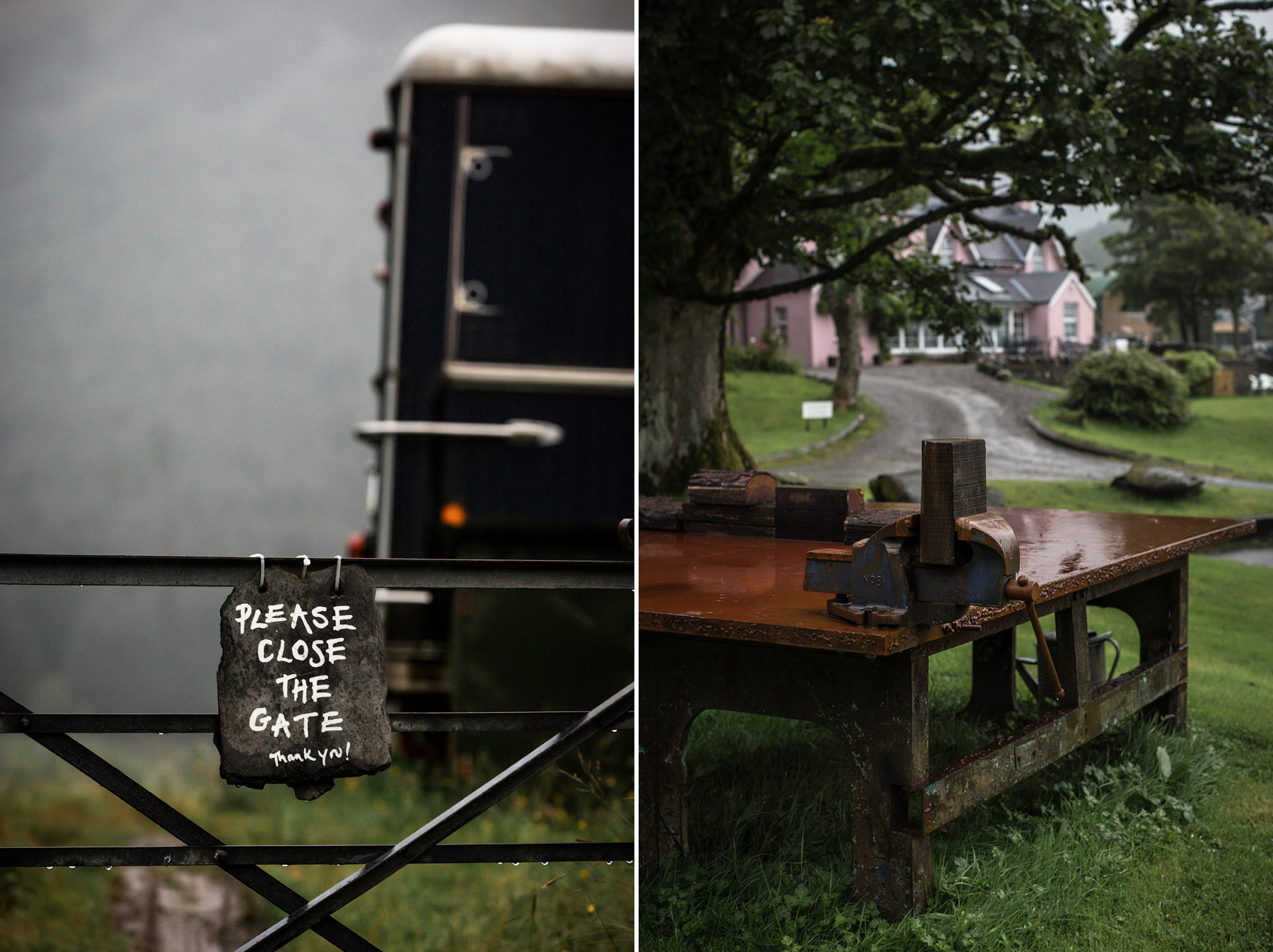 Rustic wedding venue Monachyle Mhor in Scotland