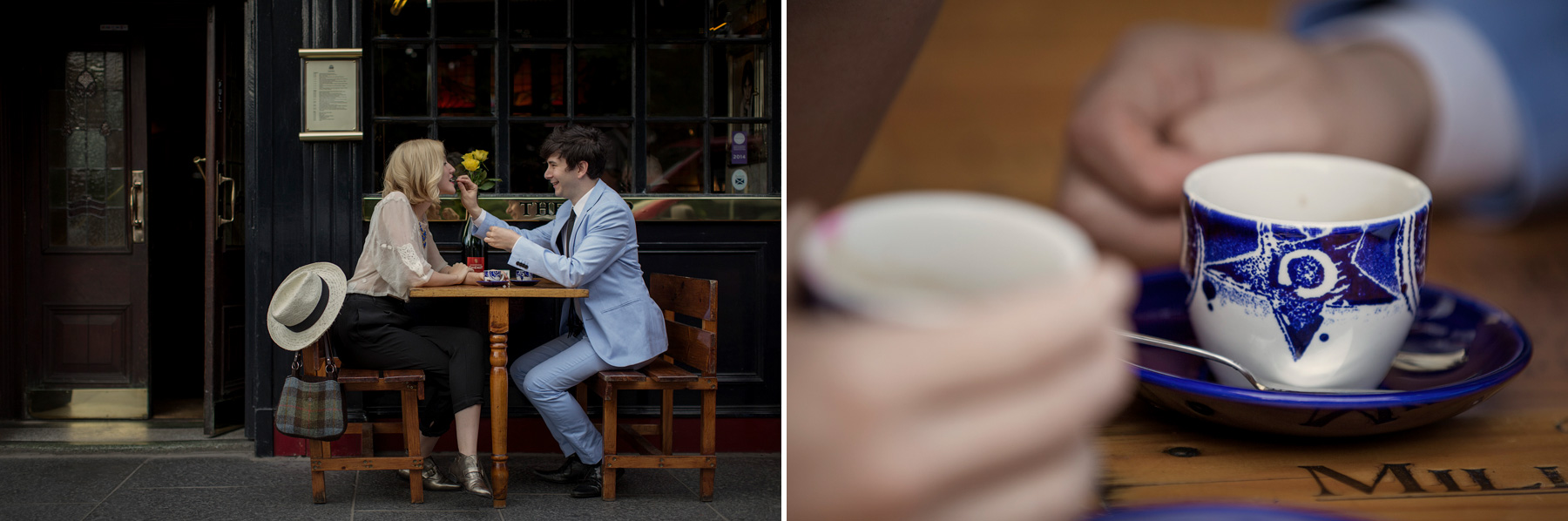 Jenni Melear & Stuart McLeod - shoot in Edinburgh © Paul Raeburn - wedding photographer Scotland