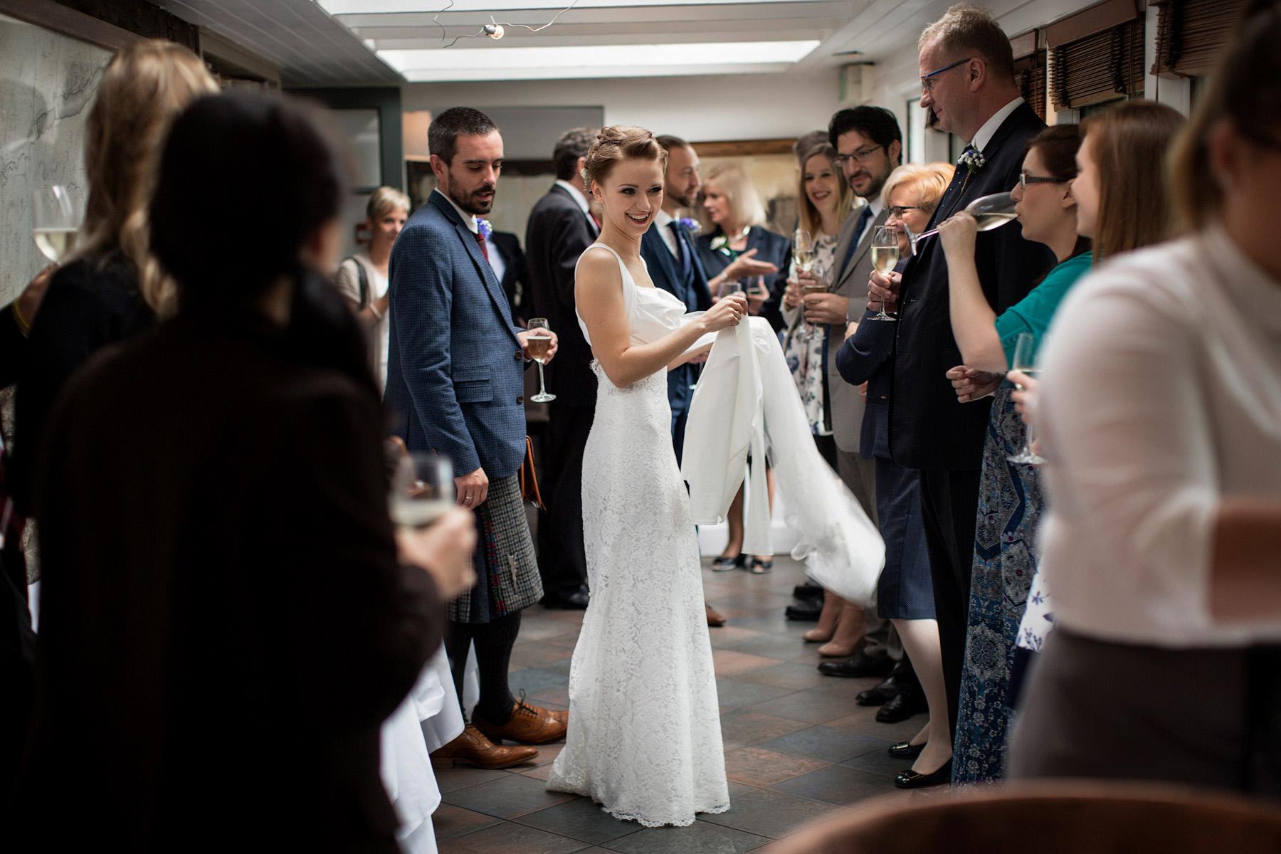 wedding at Monachyle Mhor, Scotland
