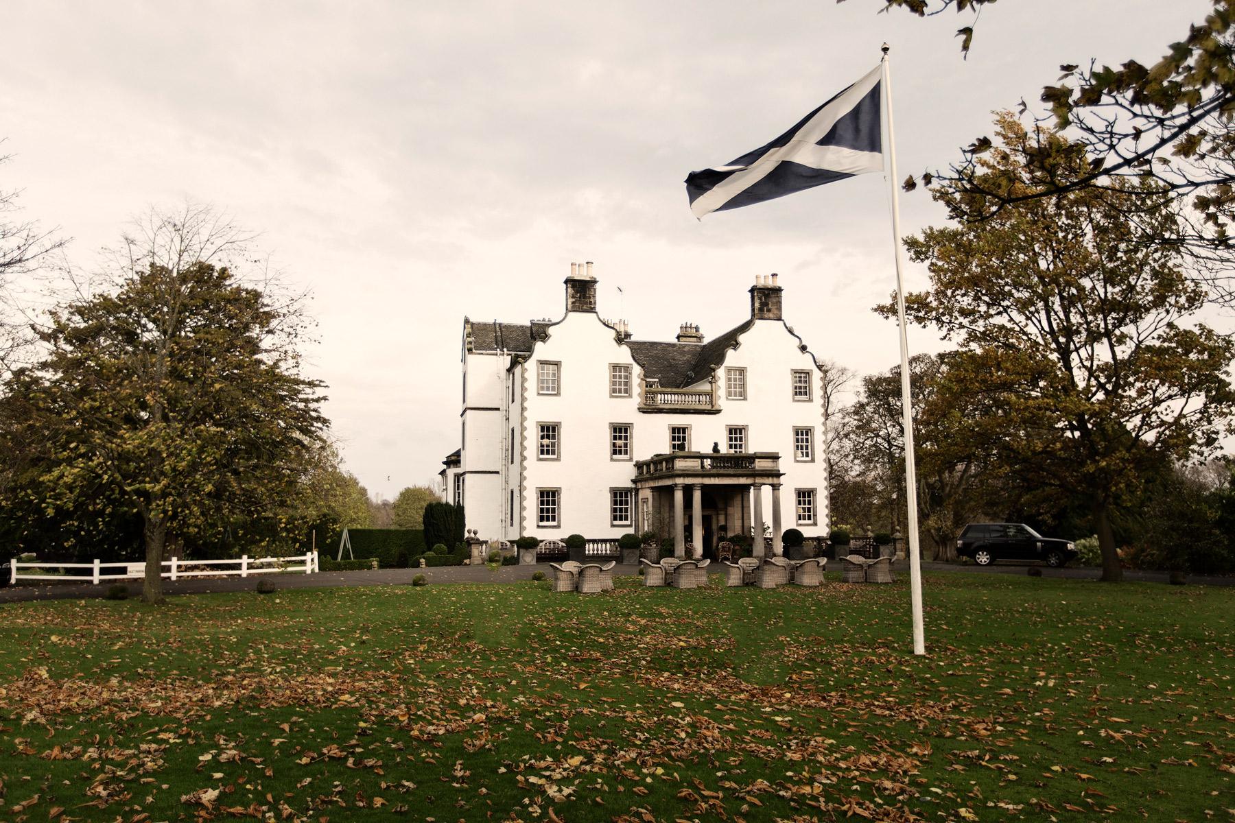 Preston Field House at Halloween