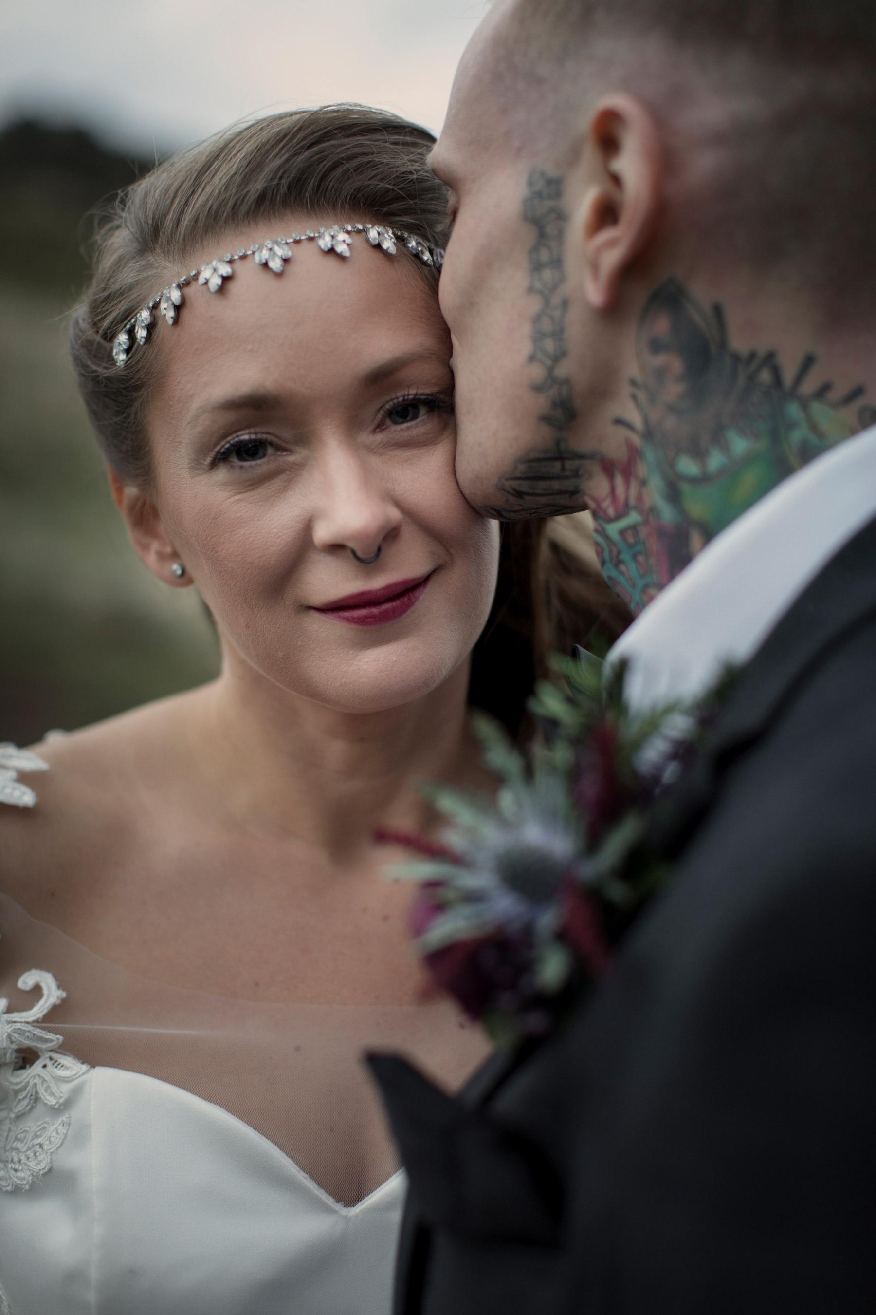 bridal portrait edinburgh halloween