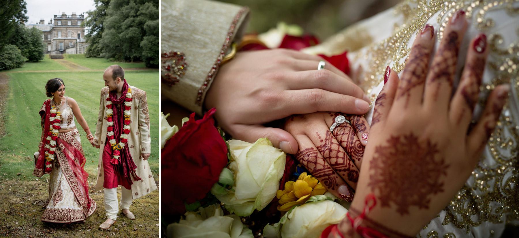 wedding portraits at hindi wedding