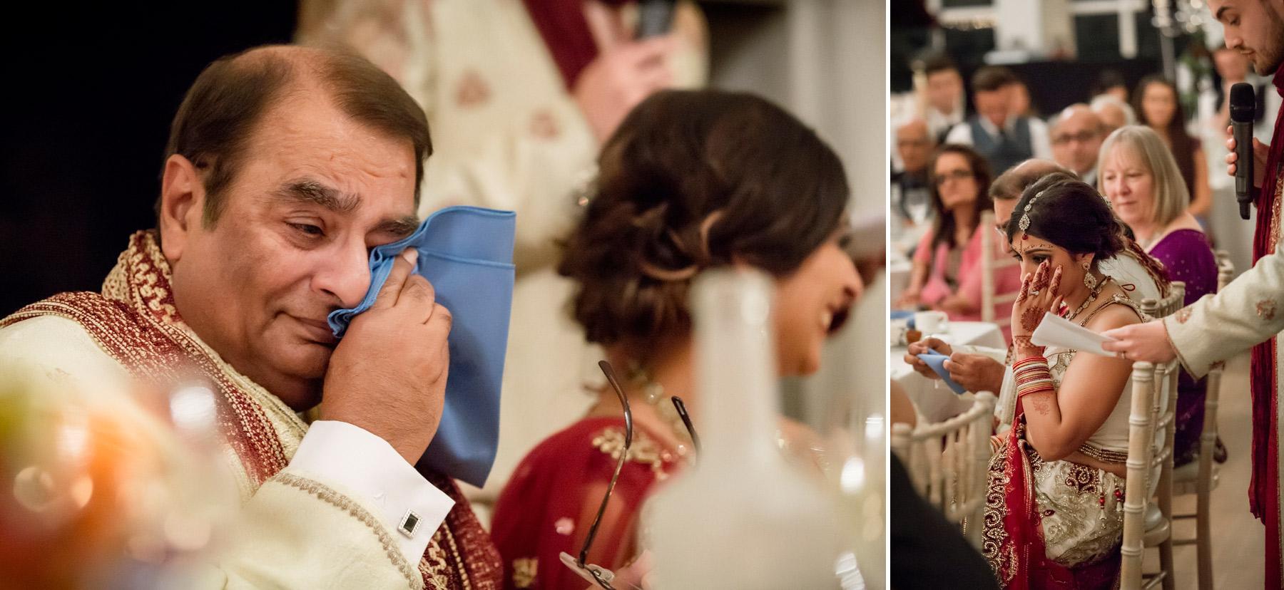 emotions at wedding in scotland