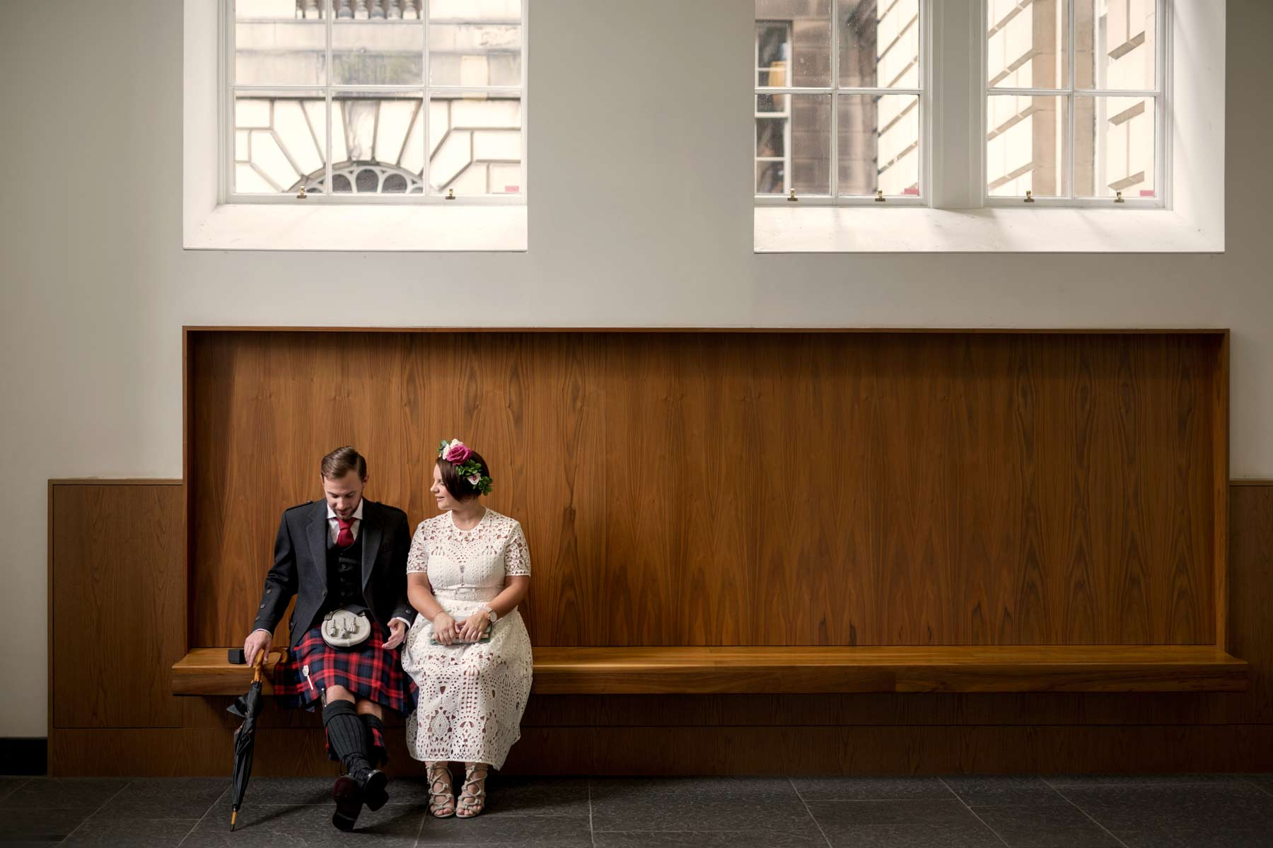 Bride, groom, wedding, Lothian Chambers, Edinburgh