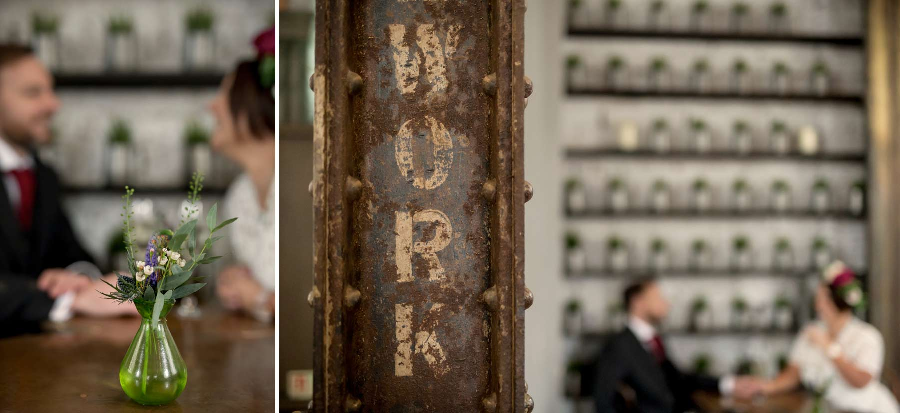 Details, Inn on the Mile, wedding, Edinburgh